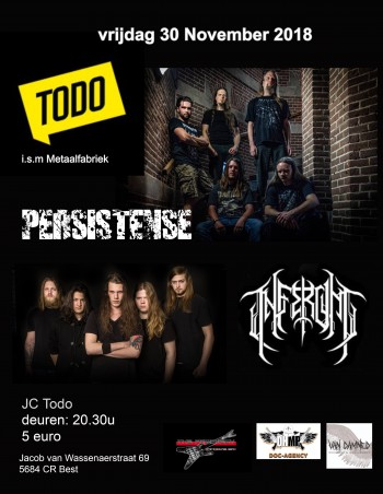 Live on stage: PERSISTENSE + INFERUM