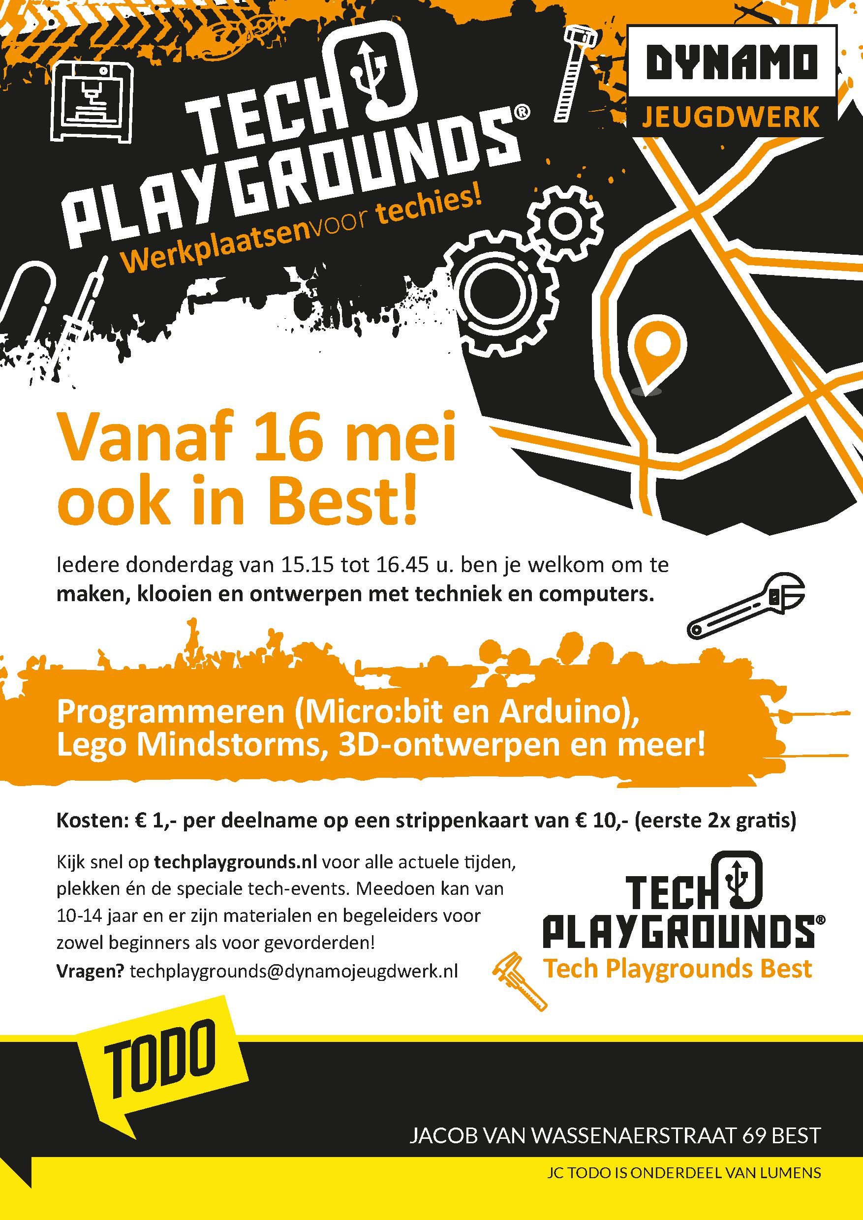 Tech Playgrounds ToDo Best A3 Poster